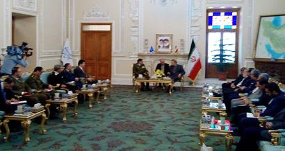 لاريجاني: إيران ستقف إلى جانب سوريا وستقدم ما يلزم لتعزيز صمودها