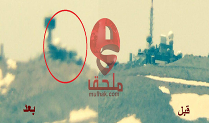5d21ccd5630d5 صور حصرية للمرصد الإسرائيلي قبل وبعد استهدافه