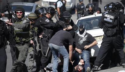 الجيش الإسرائيلي يعتقل 25 فلسطينياً في الضفة الغربية