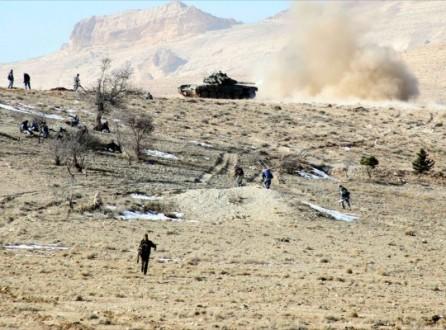 الجيش السوري وحزب الله يسيطران على كامل سلسلة الباروح