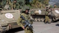 القوات الاسرائيلية نفذت مناورات بالذخيرة الحية في جنوب غرب جنين