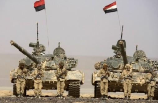 الجيش اليمني استهدف مواقع سعودية بـ 28 صاروخاً
