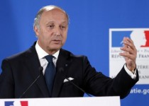 France's Foreign minister Laurent Fabius gives a press conference on January 14, 2013 in Paris, during which he announced EU foreign ministers will meet this week to discuss the Mali crisis and the bloc's plans to train Malian troops battling Islamist rebels. EU leaders in December 2012 approved a plan to send some 250 military trainers for the Malian army, backed by a protection force and other personnel, bringing the total of EU soldiers to be sent to the West African nation to 400-500.   AFP PHOTO / PATRICK KOVARIK        (Photo credit should read PATRICK KOVARIK/AFP/Getty Images)