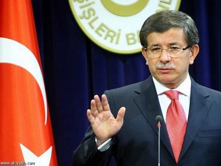 أوغلو: تركيا لا تنوي انتهاك سيادة العراق ووحدة أراضيه