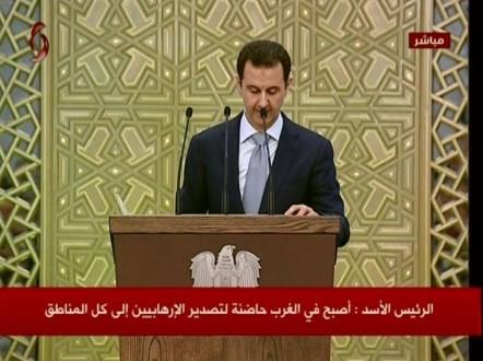 3601356e8 الأسد: وحدة الشعب الإيراني هي التي أنجزت الإتفاق النووي | Mulhak ...