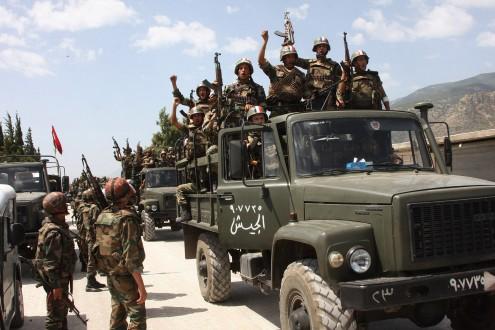 "b36366ab2 ملحق: الجيش السوري يسيطر على قرية ""عقرب"" غرب حمص   Mulhak - ملحق ..."