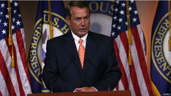 """رئيس مجلس النواب الأمريكي: سنعمل """"كل ما هو ممكن"""" لعرقلة الاتفاق مع إيران"""