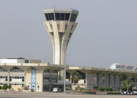 إعادة تشغيل مطار عدن