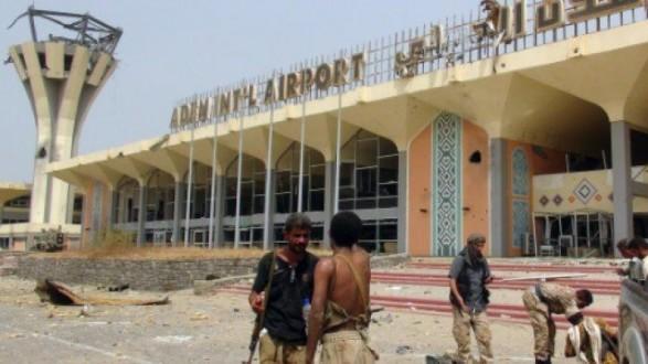 اعادة فتح مطار عدن