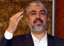 Hamas leader Khaled Meshaal speaks during a meeting at the International Union for Muslim Scholars in the Qatari capital Doha on September 21, 2014.AFP PHOTO / FAISAL AL-TAMIMI        (Photo credit should read FAISAL AL-TAMIMI/AFP/Getty Images)