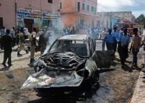 large-انفجار سيارة في العاصمة الصومالية مقديشو (أرشيفية)