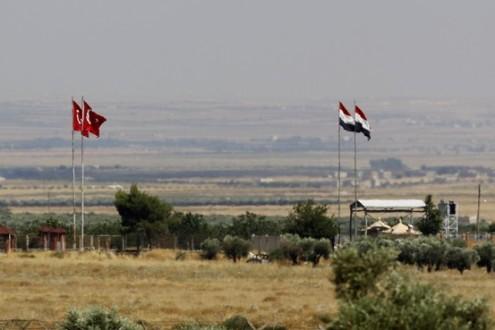 تركيا ترسل طائرات مقاتلة الى الحدود مع سوريا