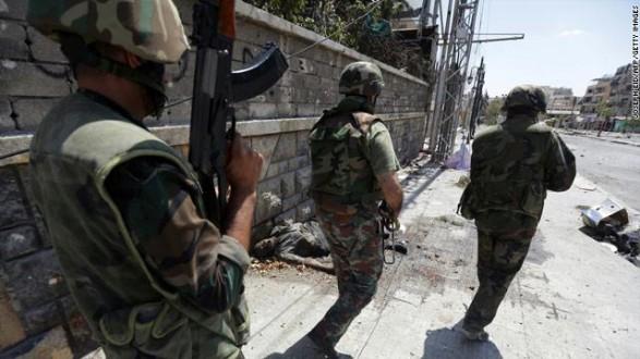 الجيش السوري يحبط هجوماً على قريتين في ريف حلب الشمالي