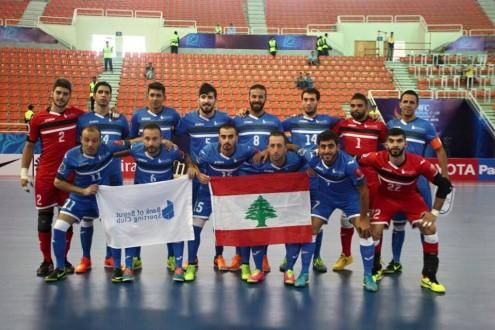 بنك بيروت يتأهل الى ربع نهائي كاس اسيا بكرة الصالات