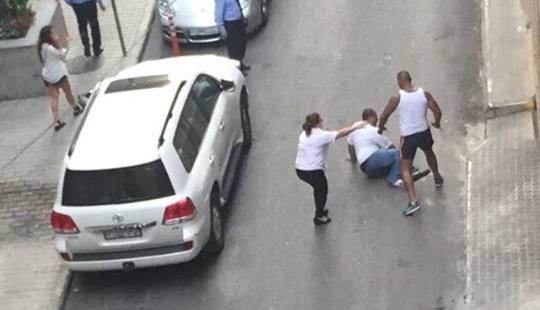 مسيرة لأهالي واصدقاء الضحية جورج الريف في بيروت