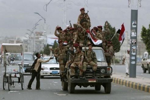 الجيش اليمني يضم 4800 مقاتل من جنوب البلاد الى صفوفه