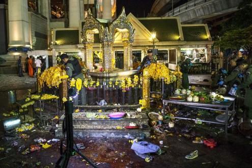 المجلس العسكري في تايلاند: تفجير بانكوك لم ينفّذه إرهابيون دوليون