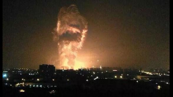 إرتفاع عدد ضحايا إنفجار تيانجين في الصين إلى 44 قتيلا
