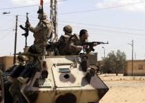آليات للجيش المصري في سيناء