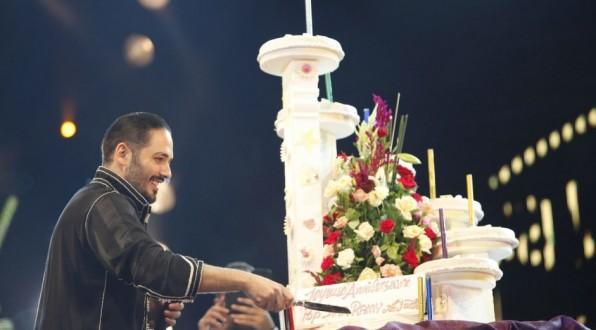 رامي عياش يحتفل بعيد ميلاده