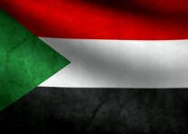 stock-footage-sudan-flag