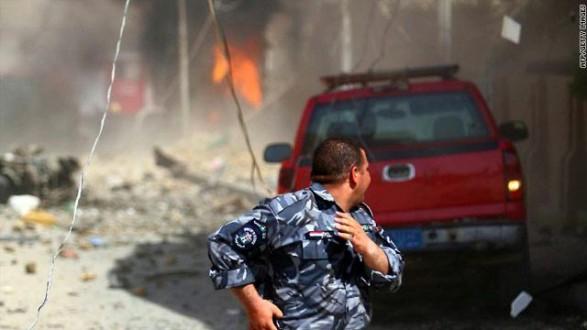 مقتل وإصابة 36 شخصاً في تفجيرات متفرقة في بغداد