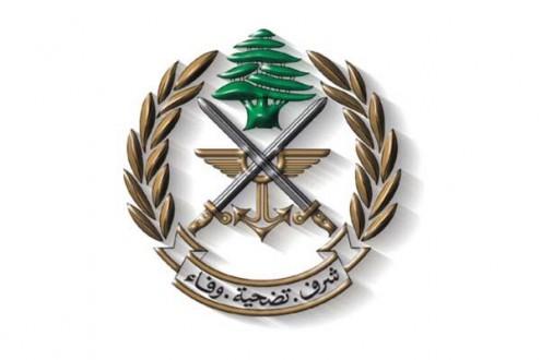 الجيش: توقيف شخصين في نهر البارد يحضرون لعملية تهريب أشخاص الى تركيا