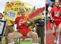 Japanese 105-year-old Miyazaki sets world record in 100 meters