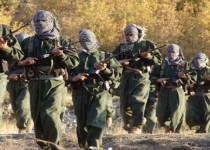 عناصر من حزب العمال الكردستاني التركي