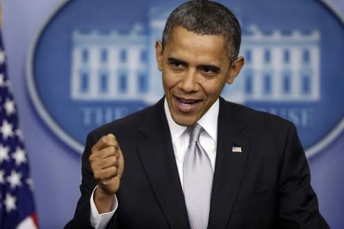 اوباما يهنئ العبادي باستعادة الرمادي