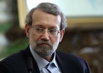 رئيس مجلس الشورى الاسلامي الايراني علي لاريجاني
