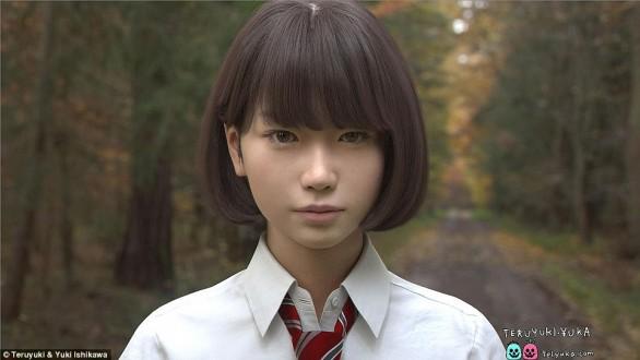 بالصور – حقيقة الفتاة اليابانية التي شغلت العالم!