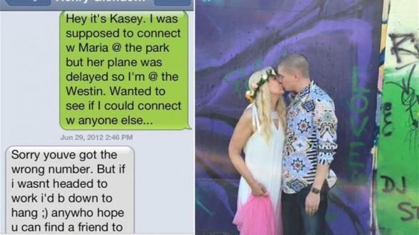 أرسلت له رسالة عن طريق الخطأ.. فتزوجها
