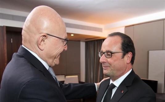 هولاند لسلام: لبنان يحتاج اكثر من اي وقت مضى الى رئيس للجمهورية