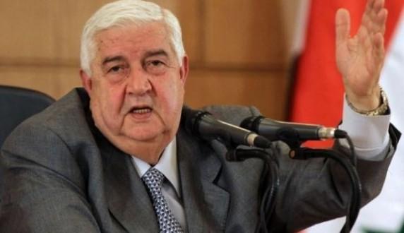 المعلم: الحكومة والشعب فى سوريا يواجهان معركة مصيرية ضد الارهاب التكفيري
