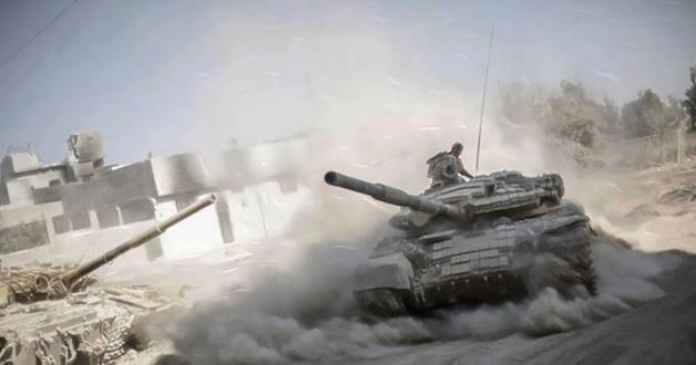 الجيش السوري يدمّر دبابة للمسلحين في ريف حلب الجنوبي
