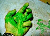 دم-أخضر