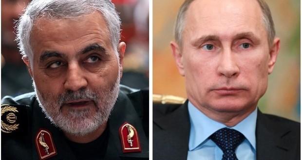 الكرملين ينفي حصول لقاء بين بوتين وسليماني في موسكو