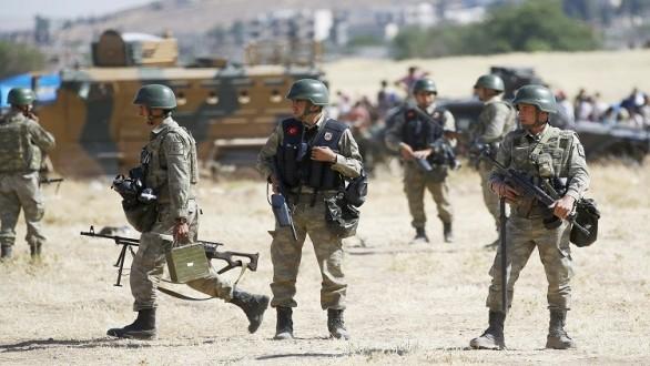 إصابة 4 جنود أتراك بإصابات طفيفة في هجوم داعش على قاعدة بعشيقة