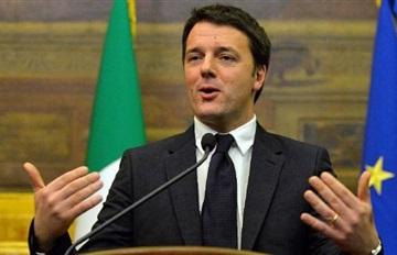 رينتسي يستبعد تدخل إيطاليا عسكريا في الصراع الدائر في سوريا