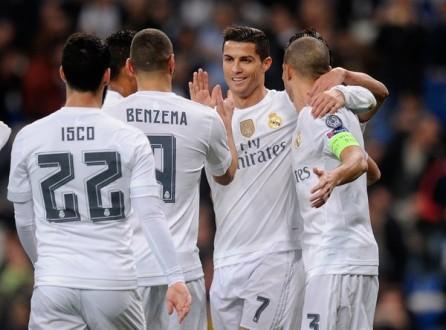 ريال مدريد يكتسح مالمو وباريس سان جيرمان يهزم شاختار بهدفين