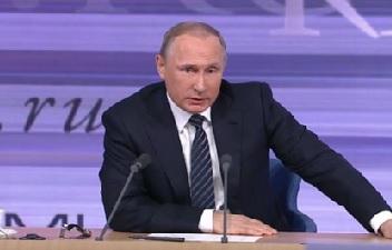 بوتين: كان الأتراك يحلّقون في الأجواء السورية لكن الآن فليجرّبوا