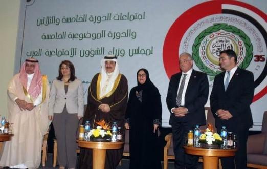 مجلس وزراء الشؤون الاجتماعية العرب يقر إقتراح درباس بشأن أزمة النزوح السوري