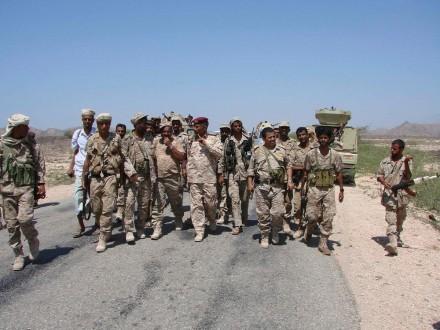 قوات هادي تسيطر على مدينة تخضع للحوثيين في شمال اليمن