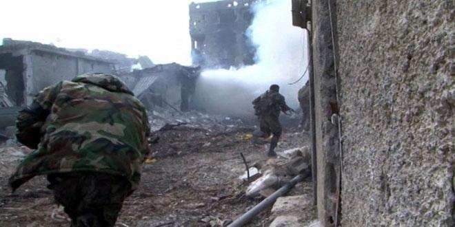 الجيش السوري يدمّر آليات وأوكار المسلّحين بمناطق عدة في حلب