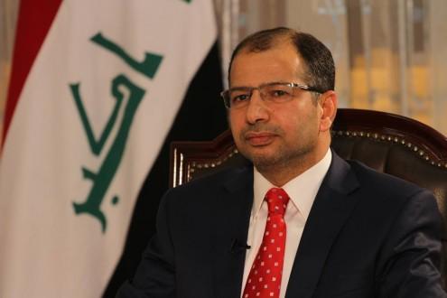 رئيس مجلس النواب العراقي يصل بيروت: لضرورة توطيد العلاقات العربية وتوحيدها
