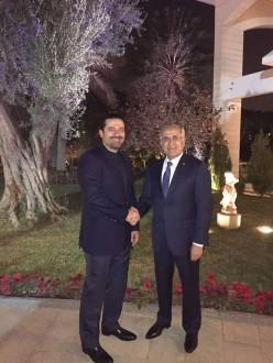 سليمان التقى الحريري في السعودية وبحثا في التطورات اللبنانية