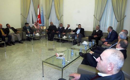 أحمد الحريري بحث مع لجنة عرسال أوضاع البلدة في حضور الجراح وحوري