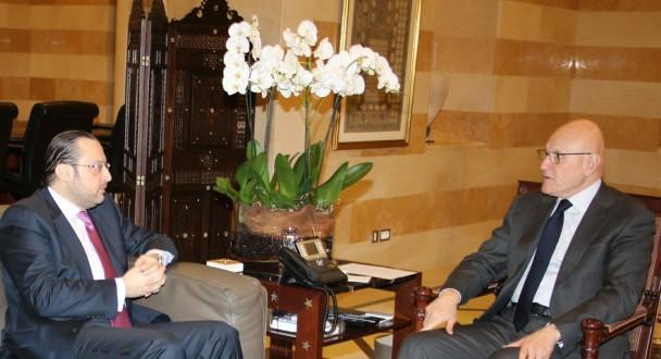 سلام يلتقي شهيب وحرب ورئيس حزب الوفاق الوطني