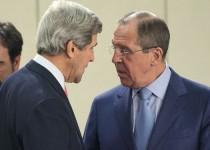 لافروف وكيري يبحثان حل الأزمة السورية سياسيا